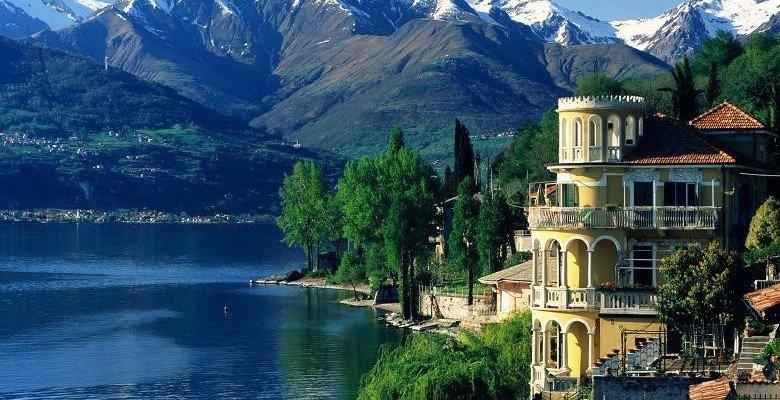 Недвижимость на озере комо италия квартира в дубай марина