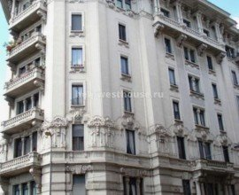 Квартира/офис в старинном здании в центре Milano (IT)| Объект: 035