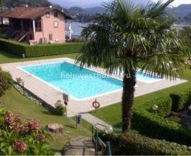 Вилла на территории эксклюзивной резиденции с бассейном и теннисным кортом в  Laveno озеро Maggiore (IT) | Объект: 059