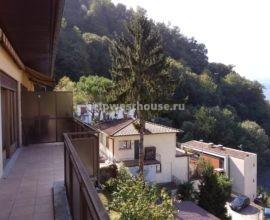 Двухкомнатная квартира в  доме с видом  на Альпы и горное озеро в Campione D'Italia (IT) | Объект: 018