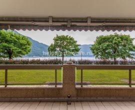 Трехкомнатная квартира с видом на озеро Лугано в Bissone (Swiss)| Объект: 001 (CH)