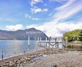 РОСКОШНАЯ ВИЛЛА класса люкс в первой линии озера Лугано в Bissone (Swiss)| Объект: 003 (CH)